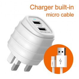 Moxom KH-55 2 USB charger with cable