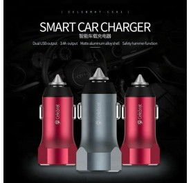 Celebrat CC01 3.4A Car charger
