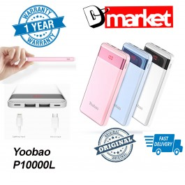 Original Yoobao P10000L Power bank 10000mAh