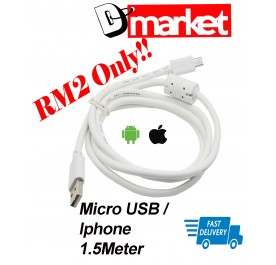 """""""Special Offer"""" USB cable Micro Lightning 1.5meter for android iphone lightning"""
