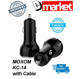 Original Moxom KC-14 3.6A 2USB car charger