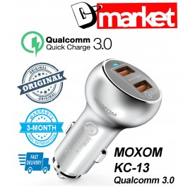 Original Moxom KC-13 Qualcomm 3.0 2USB car charger
