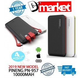 """New Arrival"" Original Pineng PN-957 10000mah Power Bank"