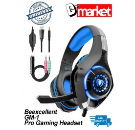 Beexcellent GM-1 Pro gaming headset Hi-Fi Sound LED light for Phone PC PS4 Xbox