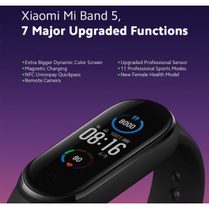 Xiaomi Mi Smart Band 5 Dynamic Color AMOLED Screen 11 Sports Modes Charge BT 5.0 14 Days Standby Remote Camera Fitness Sports Health Tracker Bracelet - KC DYNAMIC