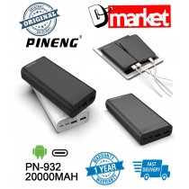 Original Pineng PN-932 20000mAh Power Bank PN932